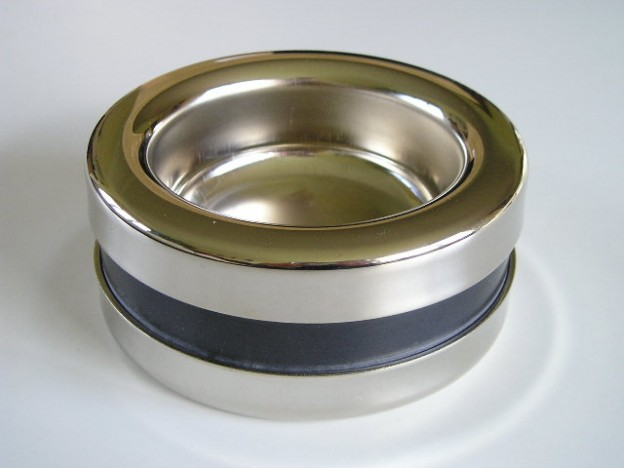 Nickel Plated Piattino Caster Cups available